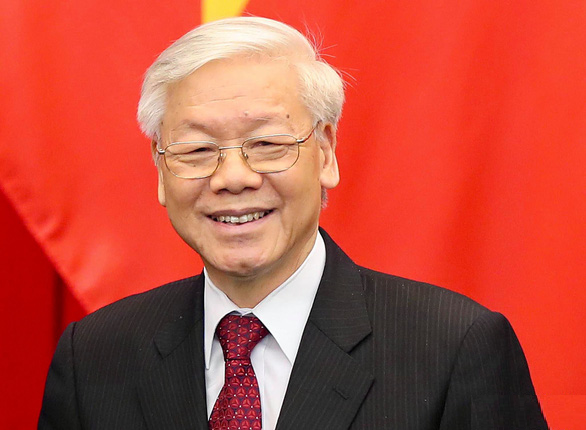 biography of nguyen phu trong general secretary of 13th party central committee
