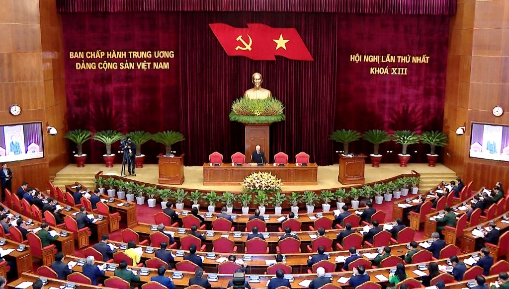 Top leader Nguyen Phu Trong re-elected as Party General Secretary