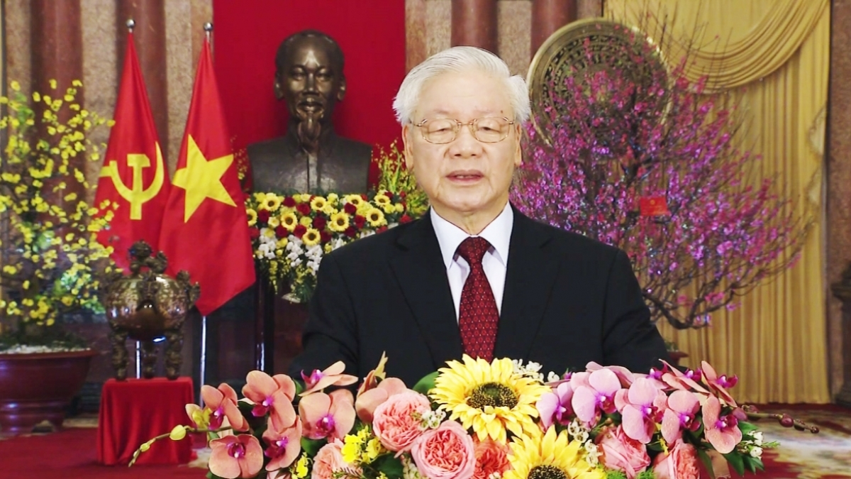 Vietnamese Top leader extends New Year greetings