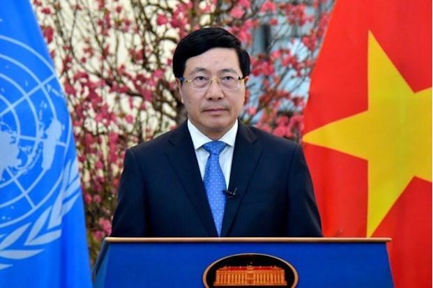 Deputy PM Pham Binh Minh addresses high-level segment of UNHRC's 46th session