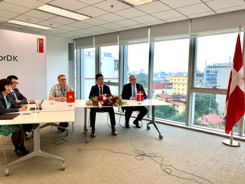vietnam denmarks mous signing to implement la gan offshore wind power project
