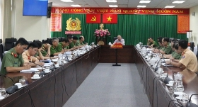 police take part to enhance covid 19 prevention in hochiminh city