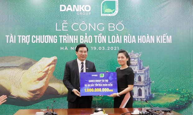 danko groups project funding for the legendary hoan kiem turtle protection