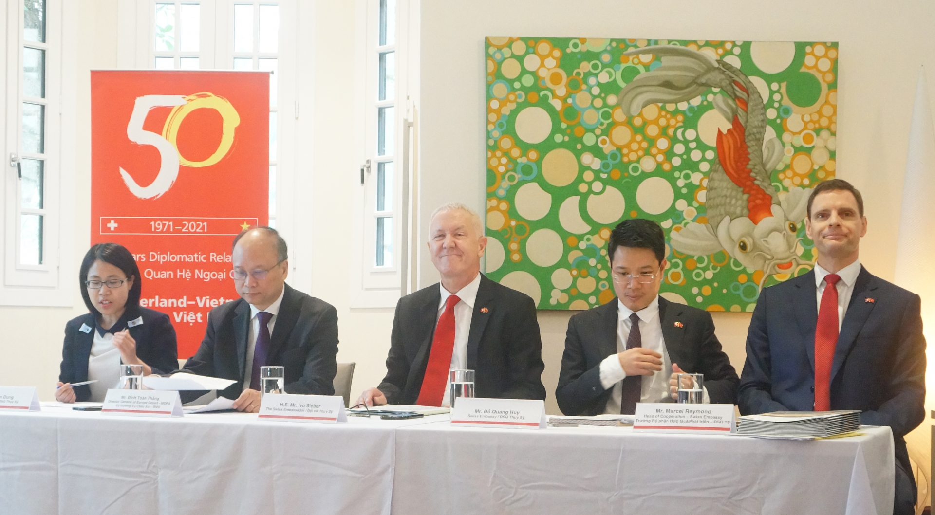 Commemorations to celebrate the 50th anniversary of Swiss-Vietnamese Diplomatic Relations in 2021 launched
