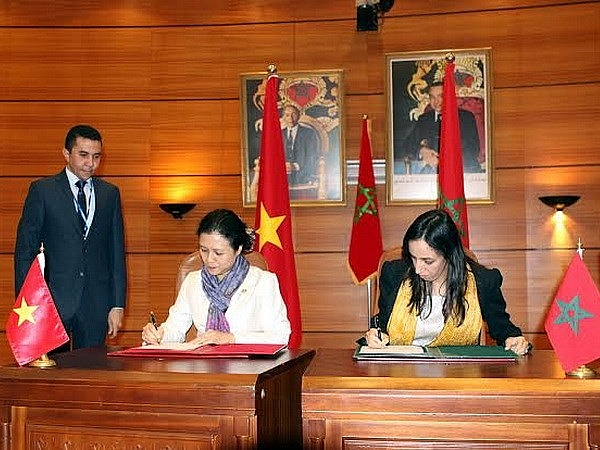 vietnam morocco friendship association desired to be established for promoting two nations relationship