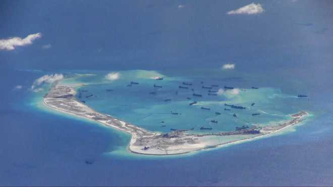 Philippines sends fighter aircraft over Chinese vessels in South China Sea