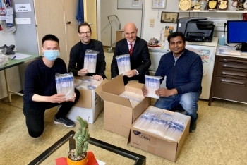 Vietnam sent 6000 sample collection tubes to Germany to support its Covid-19 treated drug experiment
