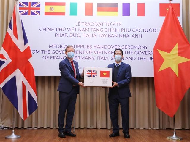 vietnam donates 550000 masks to five european worst affected by coronavirus