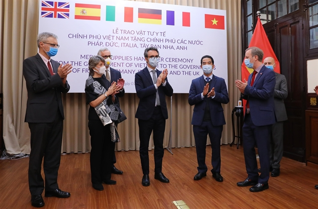 Vietnam donates 550,000 masks to five European worst affected by coronavirus