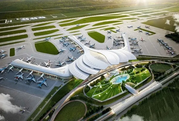 long thanh international airport starts its work in may 2021