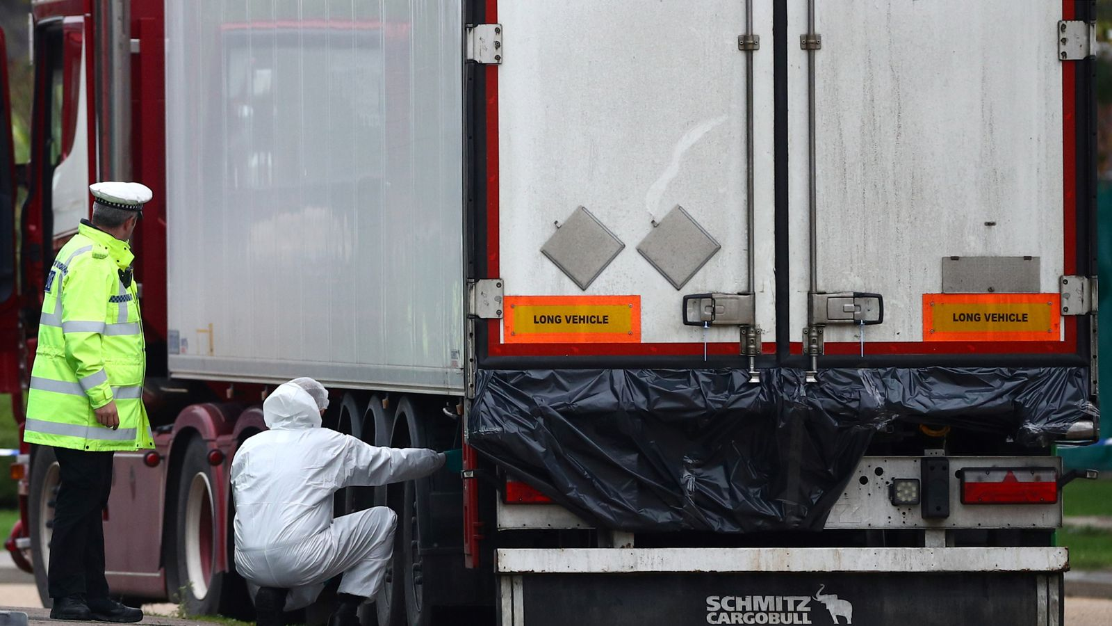 Man arrested in Ireland in connection with 39 Vietnamese migrants found dead on Essex lorry