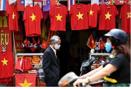 vietnams two biggest cities regain composure as social distancing eased