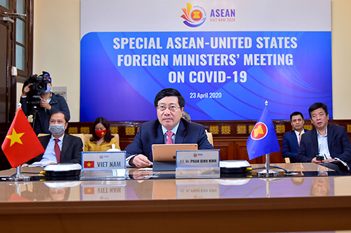 asean and usplan in the online special asean us fm meeting strengthens public health cooperation