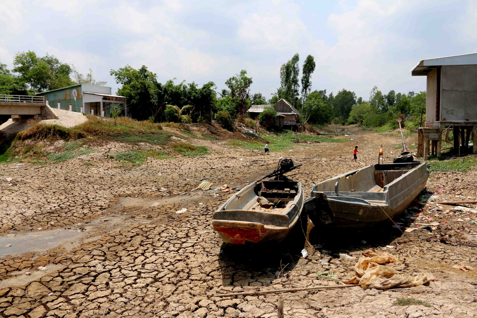 Record drought and salinity with desperate fresh water shortage, Mekong Delta crying for help