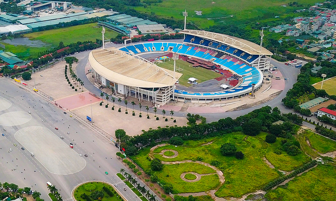 my dinh stadium upgraded to host sea games 2021