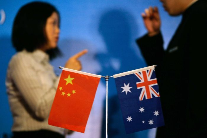 china and australia s diplomatic relations are said at their lowest point since they began 46 years ago