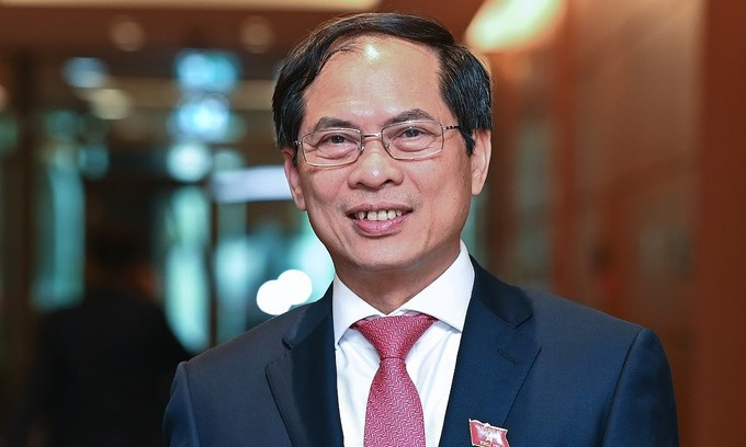 Vietnam's new Minister of Foreign Affairs Bui Thanh Son. Photo by VnExpress