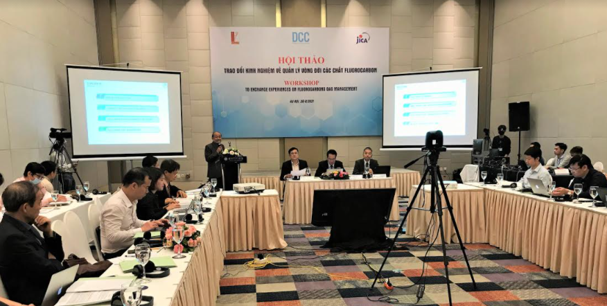 JICA supports Vietnam to build legal framework for reducing harmful man-made greenhouse gases