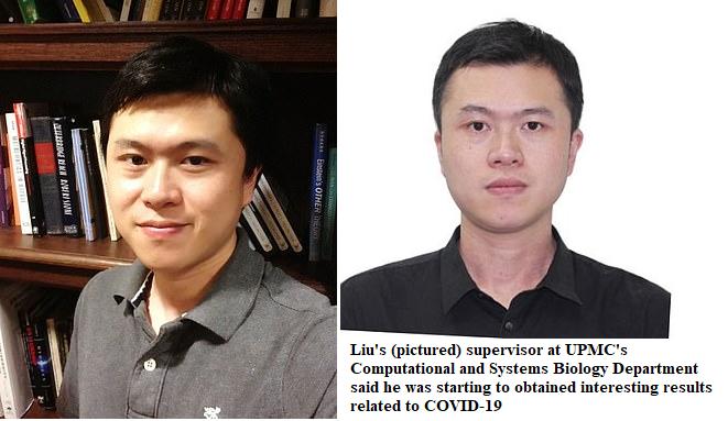 coronavirus death riddle chinese researcher dr bing liu killed in murder suicide