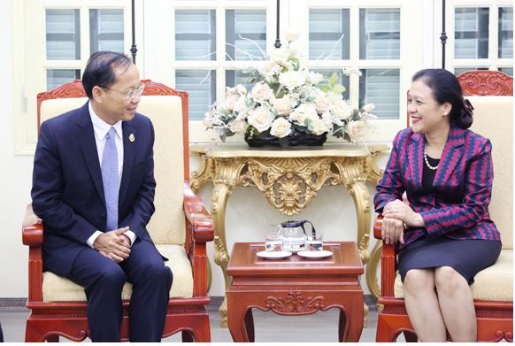 Cambodian Ambassador sends a congratulatory letter to the VUFO President