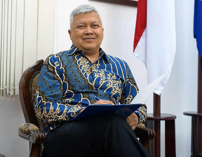 indonesian ambassador sends a congratulatory letter to the vufo president