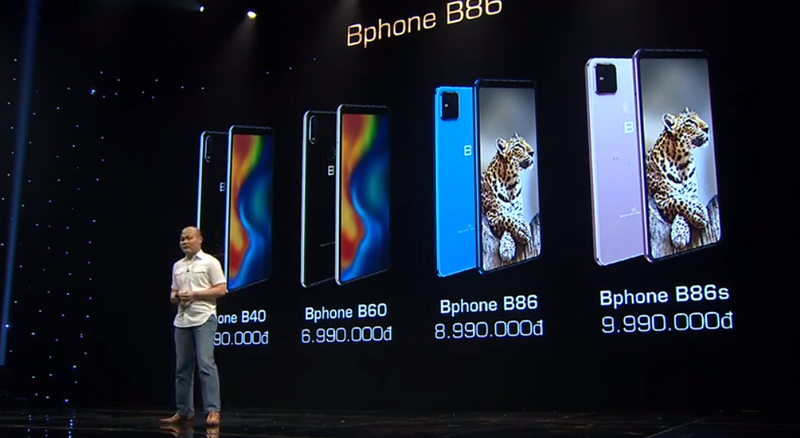 Bphone B86 officially launched marking 11-year Vietnamese phone creation of Bkav