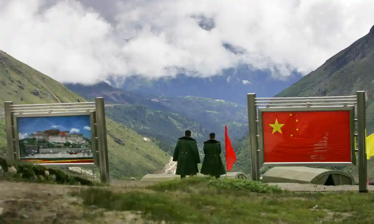 clash between indian and chinese soldiers in cross border