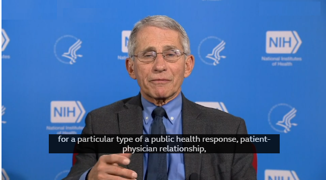 """Fauci warns """"the consequences could be really serious,""""  if US reopens too fast"""