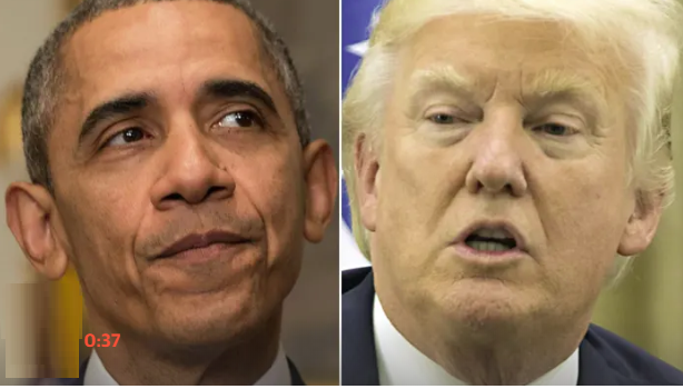 us presidents obamagate hashtag by trump and an absolute chaotic disaster criticized by obama