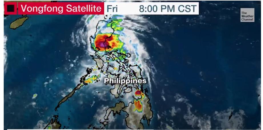 Typhoon Vongfong strongly strikes Philippines amid coronavirus -hampered evacuation