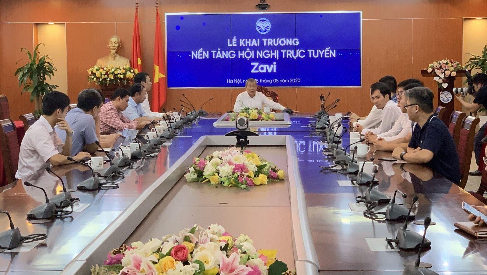 vietnams first online meeting platform zavi launched