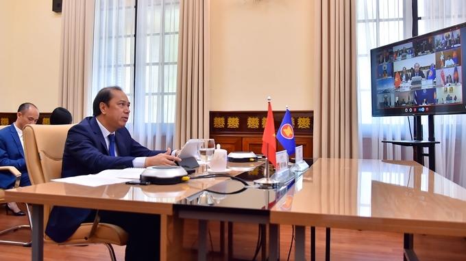 Vietnam attends the 32nd ASEAN-Australia Forum's online conference
