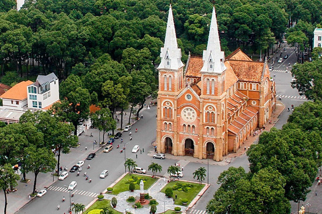 (Duc Ba) Notre Dame Cathedral in Ho Chi Minh city among world's most beautiful
