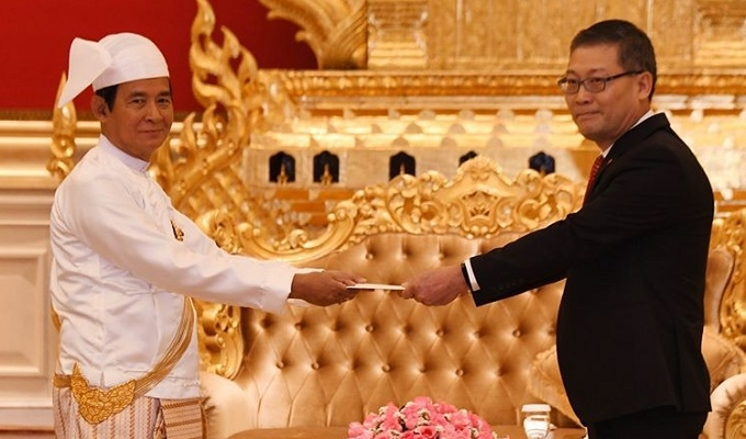 myanmar and vietnamese leaders exchange congratulatory messages on the 45th anniversary of diplomatic relation establishment