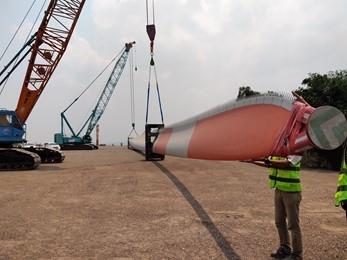 JICA's first project finace loan for wind power project in Vietnam