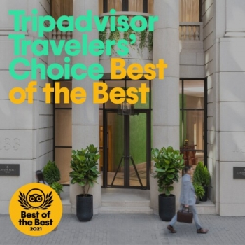 High Five for Lanson Place in the 2021 Tripadvisor Travellers' Choice Award