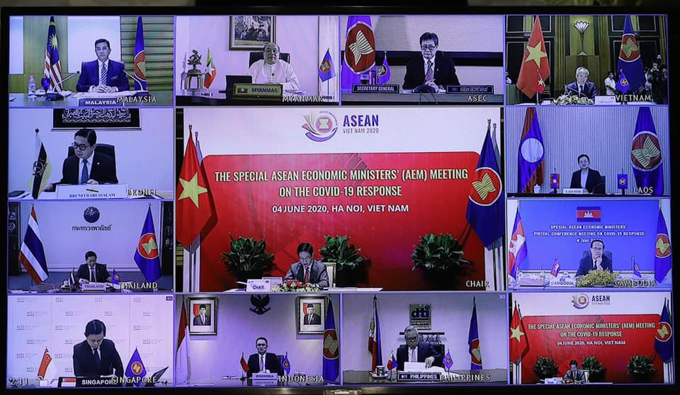 asean economic ministers pass ha noi action plan to facilitate asean trade