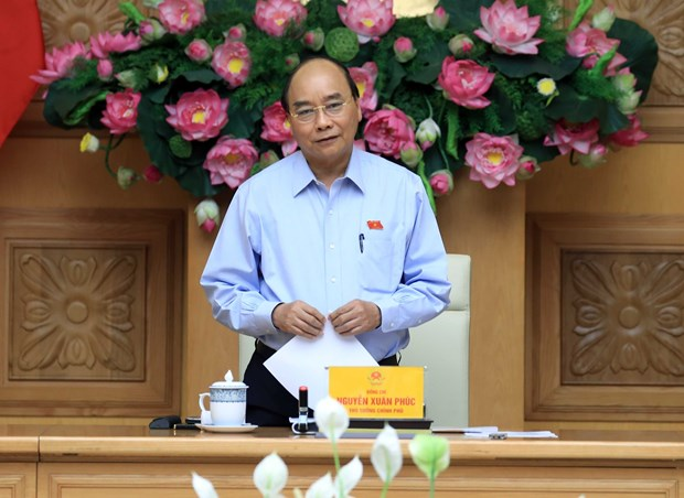 vietnam permanent government members discuss cooperation projects with laos