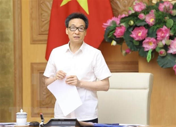 deputy pm vu duc dam chairs meeting to help tourism sector overcome covid 19 pandemic