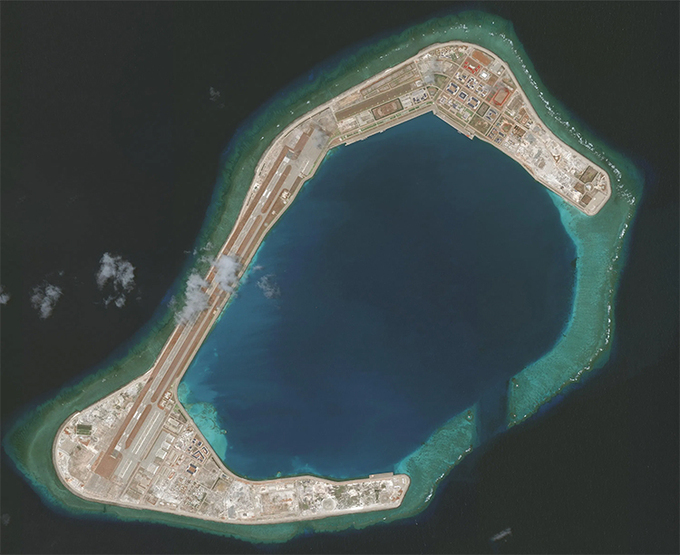 U.S. military commander warns against China's pushing territorial claims under cover of coronavirus