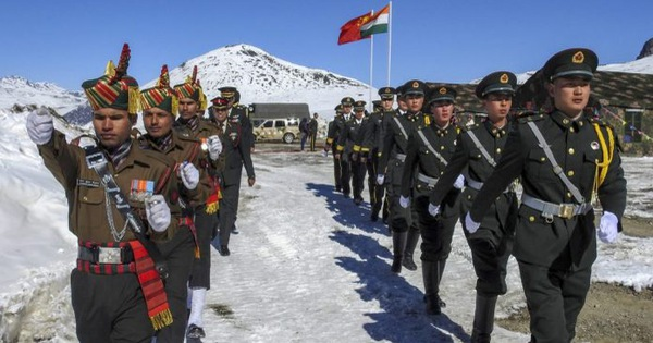 india china confrontation new delhi admits deploying troops with the same number of opponent troops