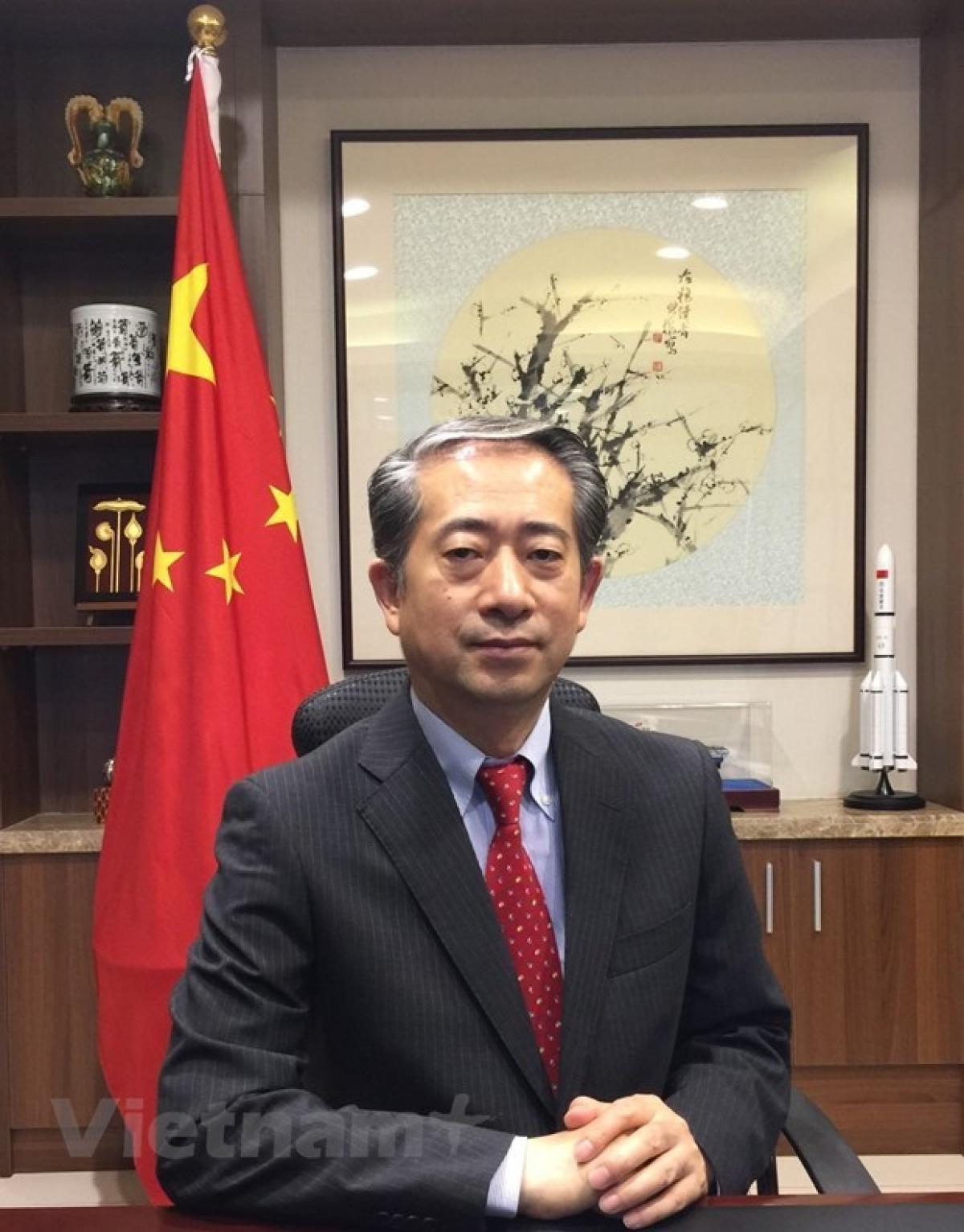 Chinese Ambassador to Vietnam Xiong Bo (Photo: Chinese Embassy in Vietnam)