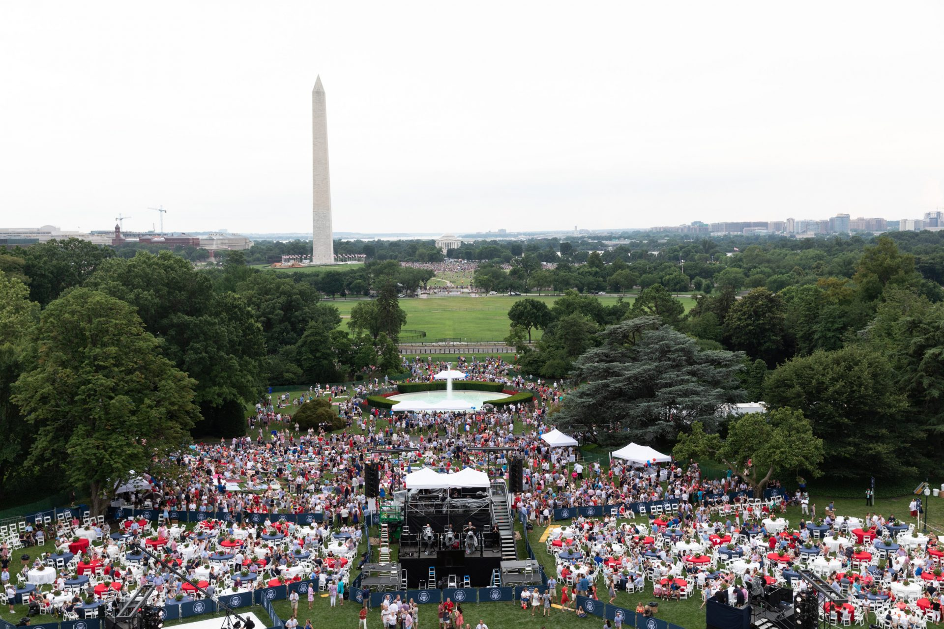 the fourth of july at the white house a look from past and present