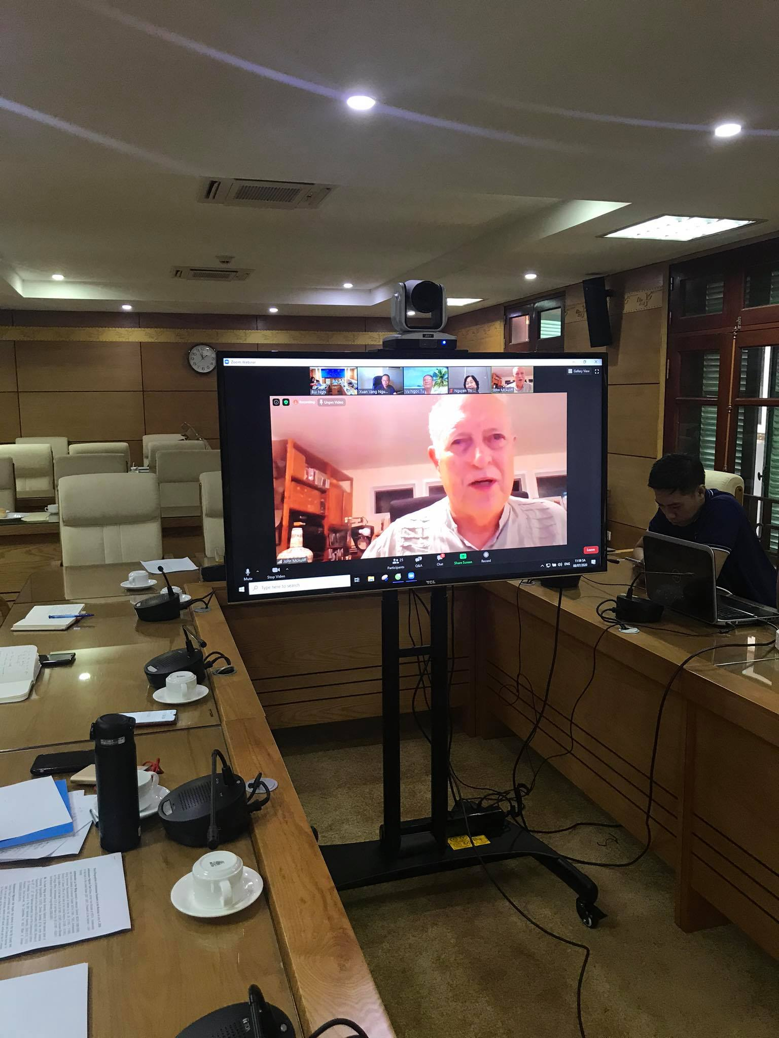 webinar at the vufo normalization of vietnam us relations reflections from the ground up
