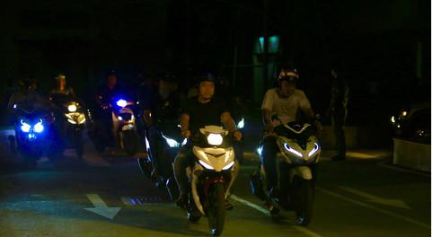 ho chi minh city police overnight suppressing criminals