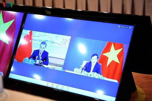 South China Sea's sea-related issues exchanging between Vietnam and China's views