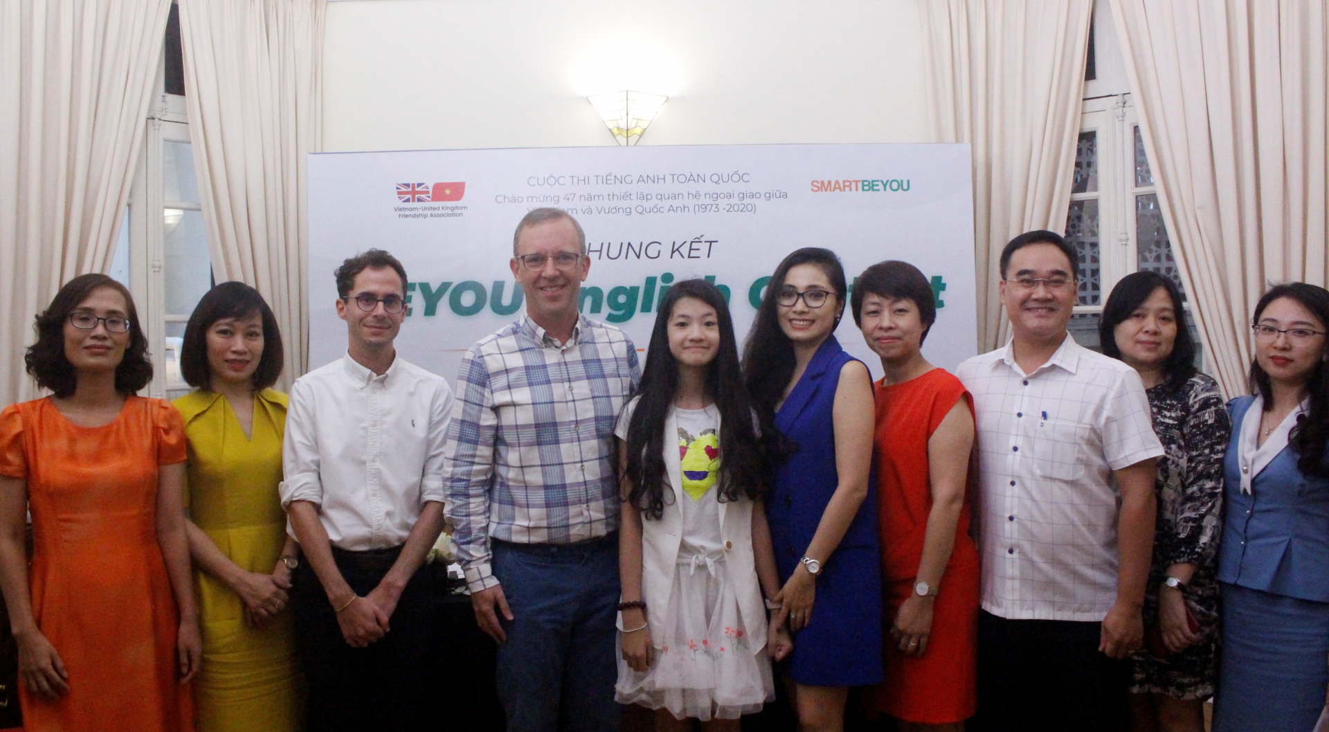 the national beyou english contest first prize won by dao lien ha from brendon primary school