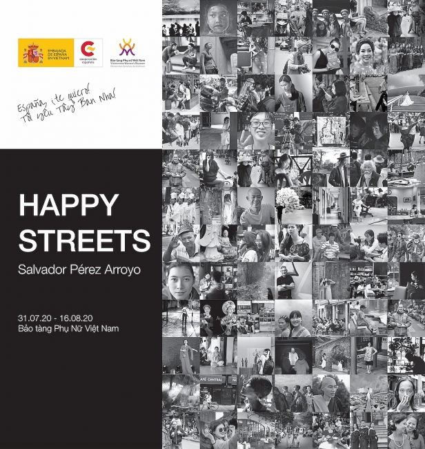 """Happy streets"", the photo exhibition by famous Spanish architect in Vietnam on July 31"