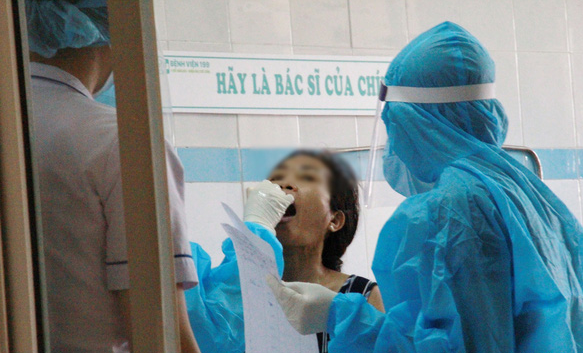 the coronavirus strain said by who of new infections in da nang