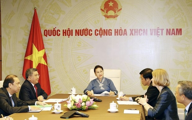 vietnam and new zealands top legislators hold online talks
